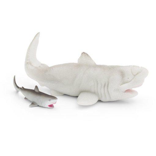 En veldig tørst hai