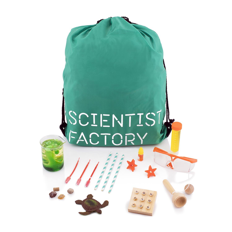 Forskerfabrikkens julekalender grønn versjon
