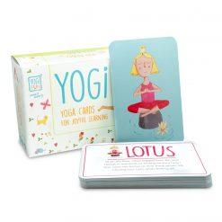 yogakort for barn