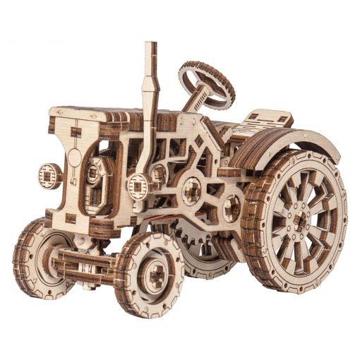 wooden city traktor