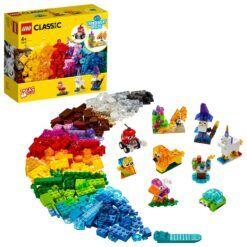 LEGO® Kreativitet med gjennomsiktige klosser 11013