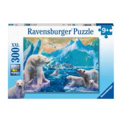 Ravensburger puslespill isbjørner 300 brikker