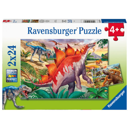 forhistoriske dyr puslespill ravensburger