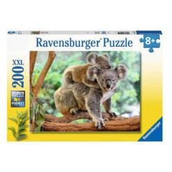 Ravensburger puslespill koala 200 brikker