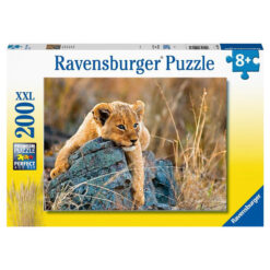 Ravensburger puslespill løveunge 200 brikker