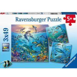 ravensburger puslespill under havet
